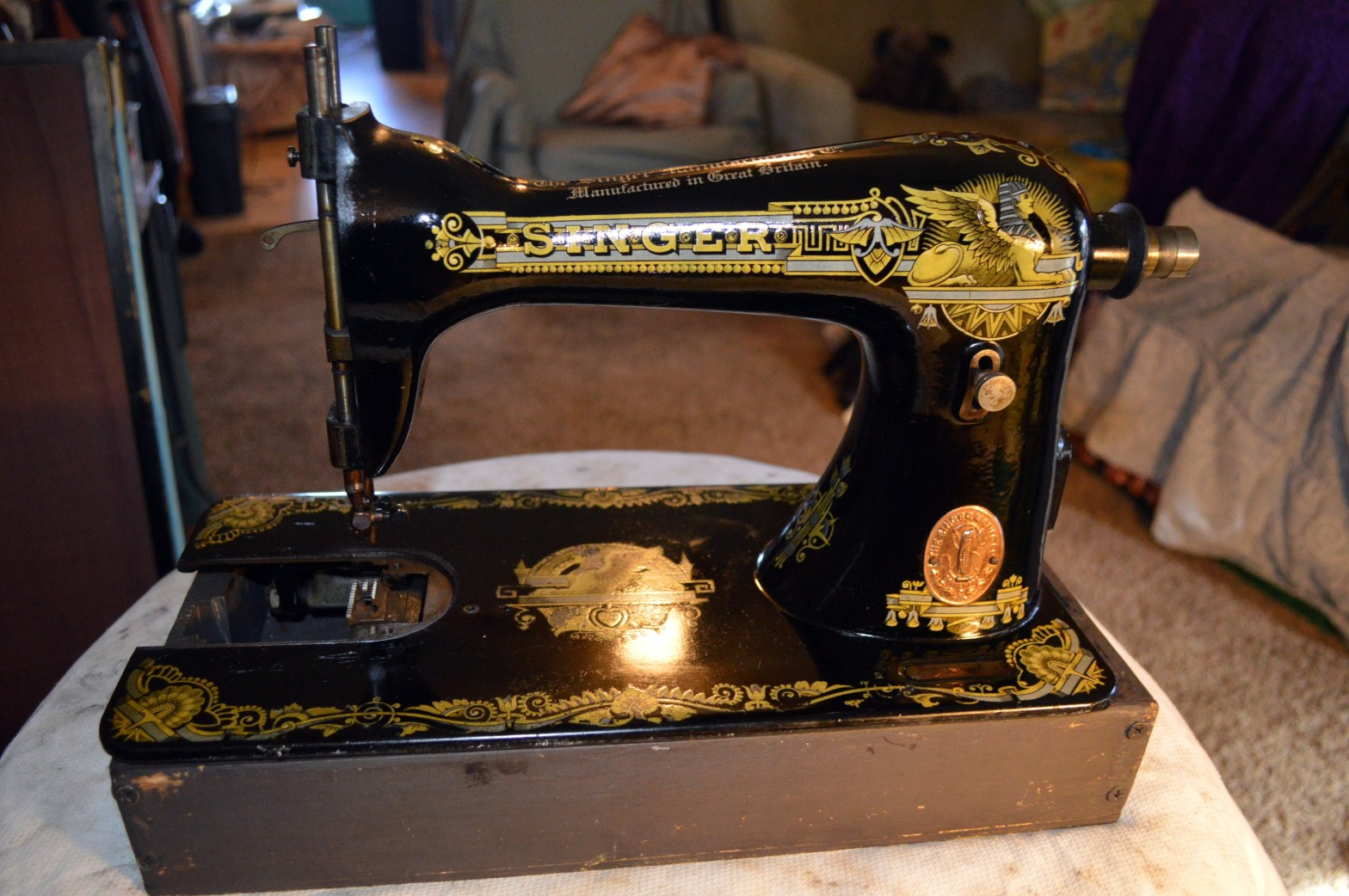 A Tutorial Cleaning An Antique Singer Model 15k Sewing Machine Restored Vintage Fine Quality Sewing Machines